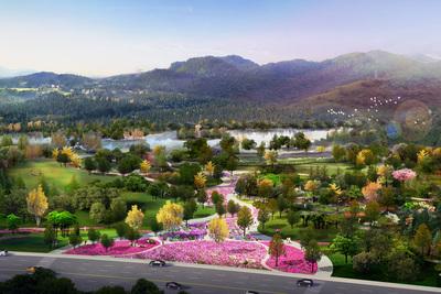 贵安新区山头绿化-兴安大道及大松山区域项目