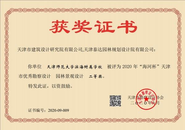 2020年海河杯证书-天津师范大学滨海隶属学校.jpg