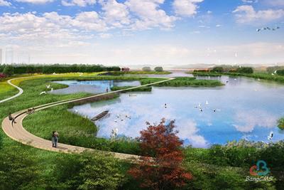 天津临港湿地(二期)工程规划设计