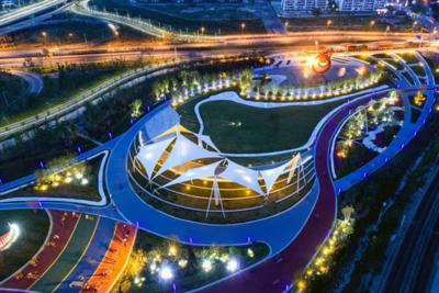 连云港新丝路零点公园